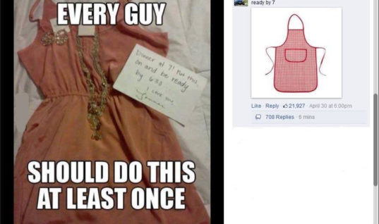 Every Guy should choose dress for his girl