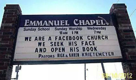 Facebook Church