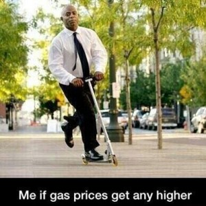 If Gas prices rise