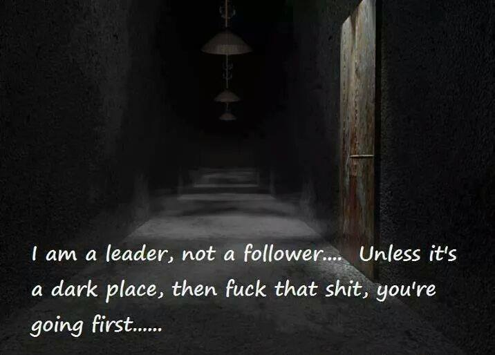 I M A Leader Not A Follower Funny Pictures Quotes Memes Funny