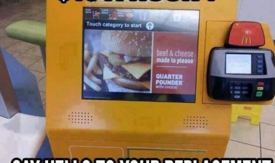 McD Burger Machine