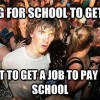 Paying for school