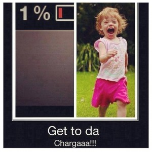 Phone outta charge