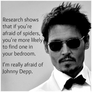 Really Afraid Of Johnny Depp