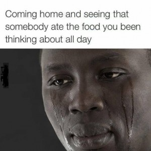 Somebody Ate your food from fridge