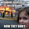Those who listen to Justin Bieber