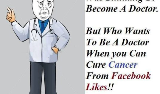 Was thinking to become a doctor