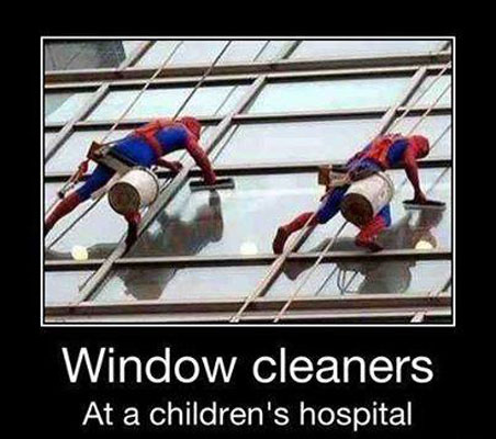 Window Cleaners window cleaners funny pictures, quotes, memes, funny images