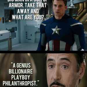 Avengers Funny Quote