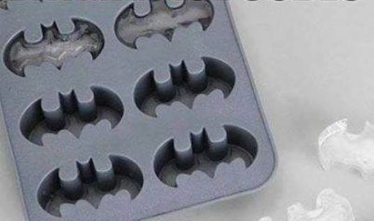 Batman Ice Cubes