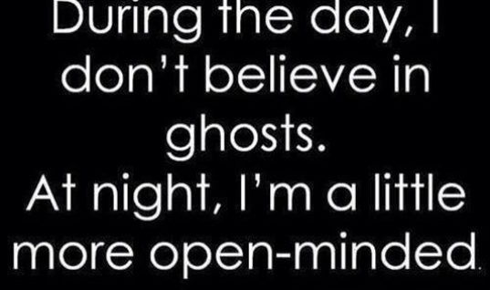 Believe in Ghosts