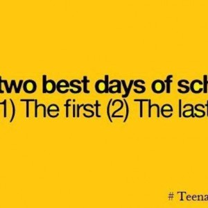 Best days of my school life