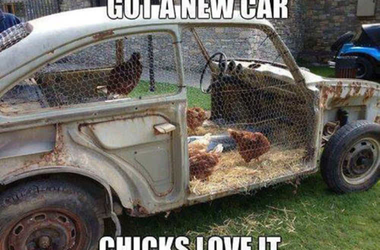 Chicks Love My New Car Funny Pictures Quotes Memes Funny Images