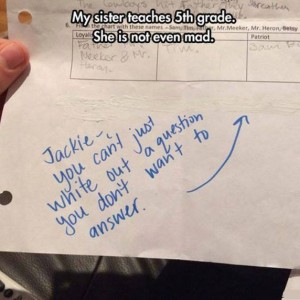 Clever kid