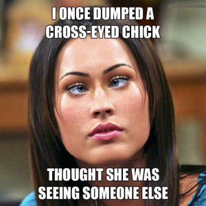 Cross Eyed Chick