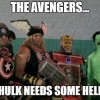 Dressed as Avengers