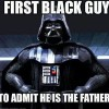 First Black Guy