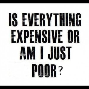 Is Everything Expensive