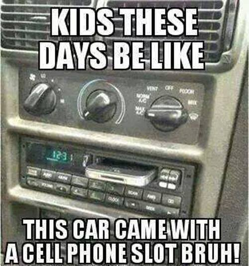 Kids dont know about Cassettes