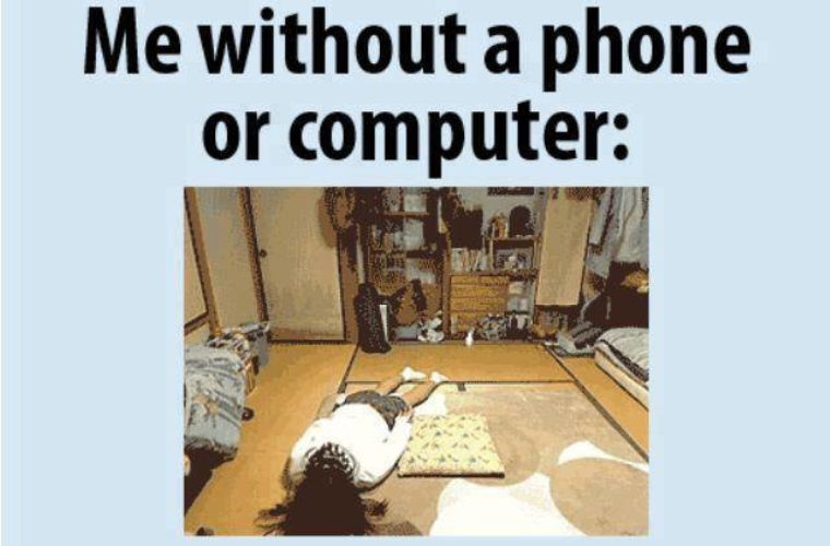 Me without phone