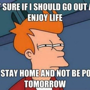 Not sure If I should go out