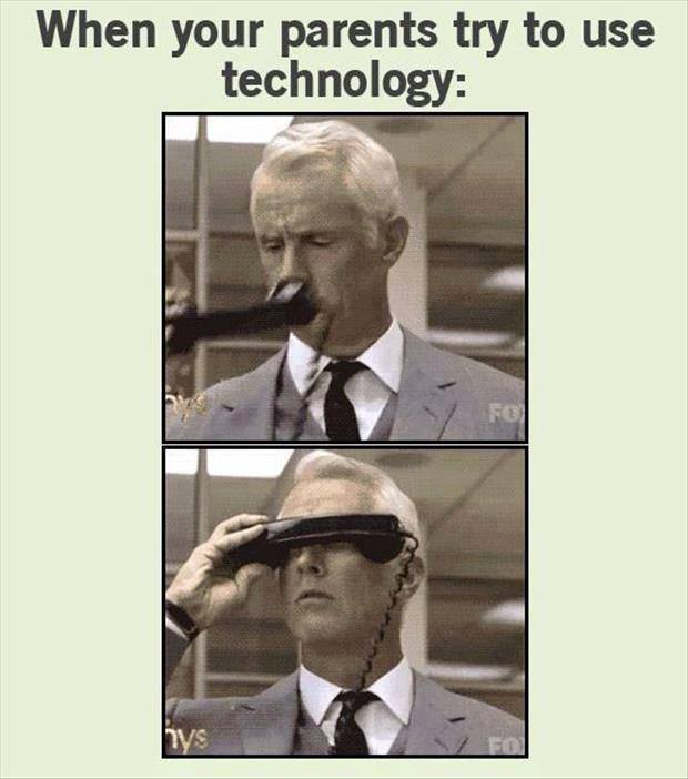 Funny Memes For Parents : Parents vs technology funny pictures quotes memes