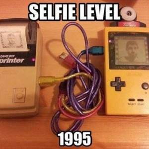 Selfie Back in the days