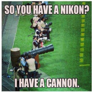 So you have a Nikon