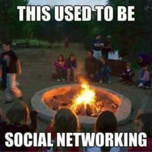 Social life back in the days