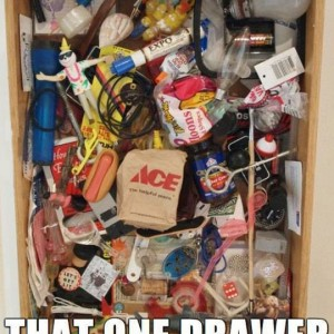 That one drawer