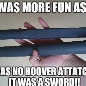This was more fun in childhood