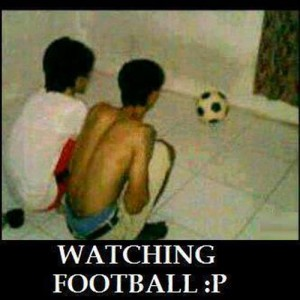 Watching Football