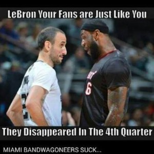 What a shame LeBron!