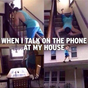 When I talk on phone