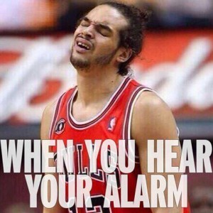 When Morning Alarm rings