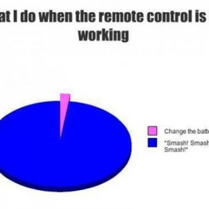 When remote control is not working