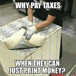 Why pay taxes?