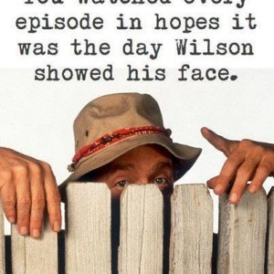 Willson showed his face