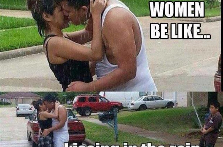 Women be like..