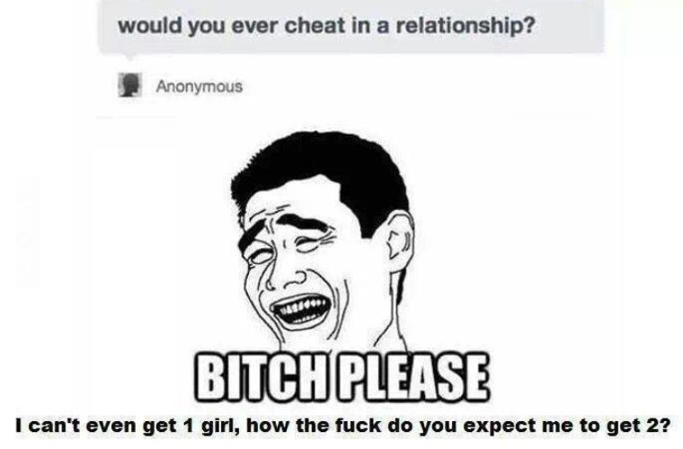 Would you cheat in a relationship