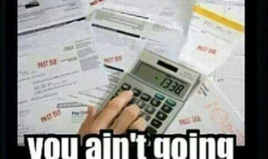 Your Bills be like