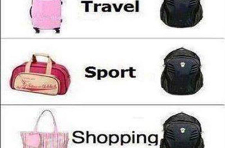 Bags - Girls Vs Boys