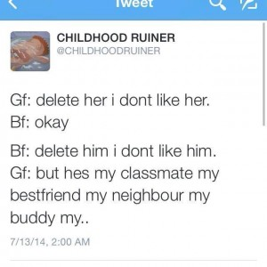 Delete Her, I don't like her