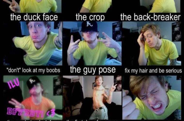 Dumb poses that all girls do