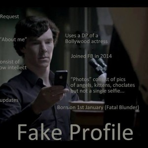 Fake Profile Sherlocked