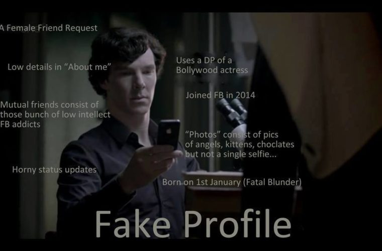 Funny Memes For Profile Pic : Fake profile sherlocked funny pictures quotes memes funny