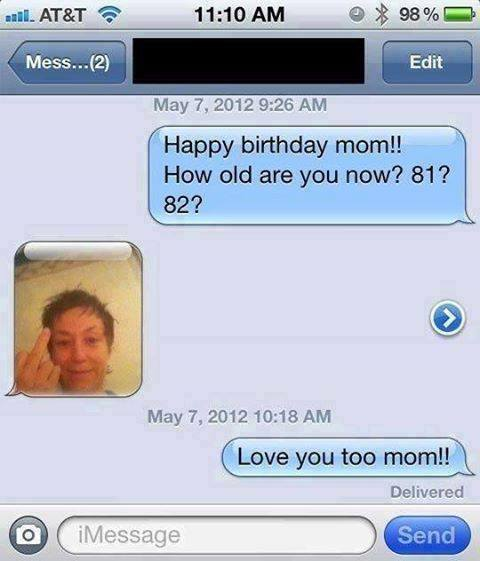Happy Birthday mom happy birthday mom funny pictures, quotes, memes, funny images