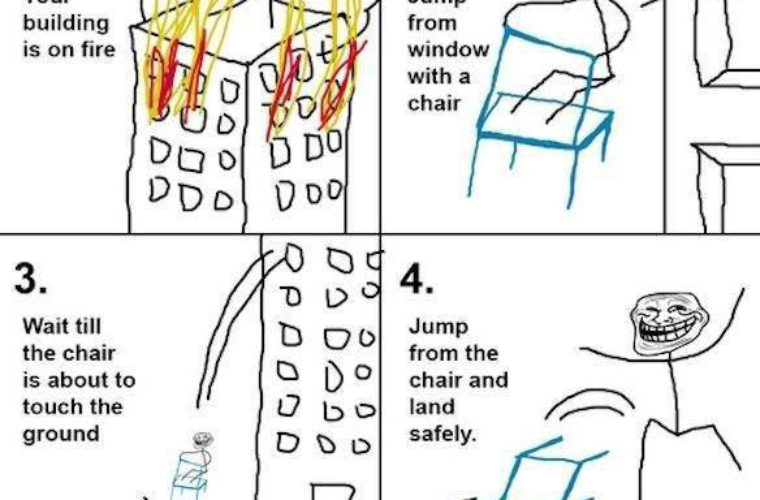 How to survive a fall