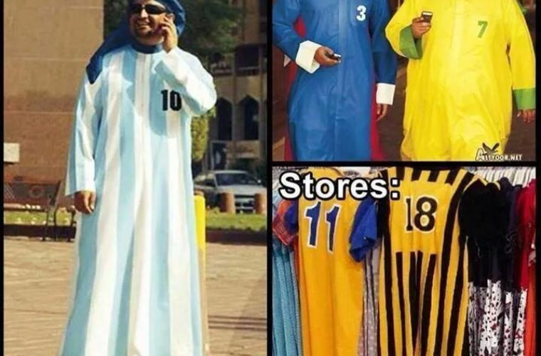 Jerseys in Middle East