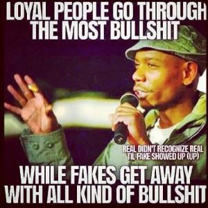 Loyal People go through